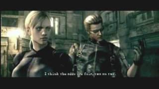 Resident Evil 5: Wesker & Jill Battle