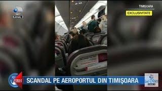 Stirile Kanal D (16.12.2018) - Scandal pe aeroportul din Timisoara!...