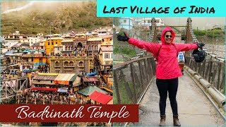 Thrilling Bike Ride To Badrinath Temple & Mana Village | Uttrakhand Tourist Places | Travel Vlog