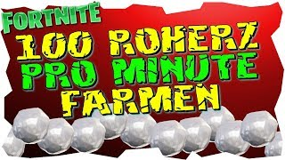 100 ROHERZ PRO MINUTE - Fast Roherz Farms - Fortnite Save the World - Patch v8.20