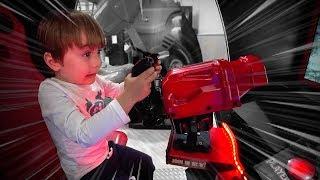 FLIPERAMA NO PARQUE DE DIVERSÃO!! Indoor Playground for Kids e Brinquedos no Parquinho Infantil