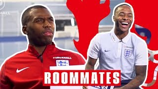 Sturridge Finds Out His FIFA Pace is 76! | Sturridge and Sterling | Roommates