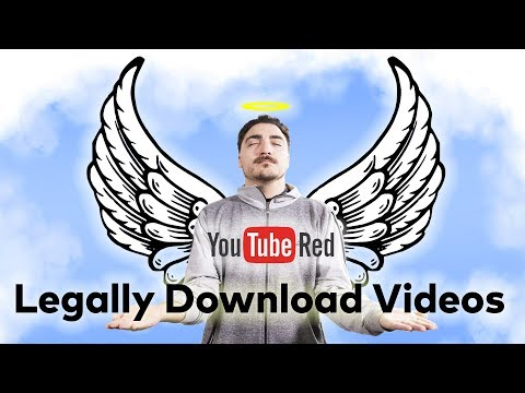 How To DOWNLOAD VIDEOS w/ YouTube RED