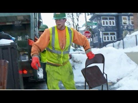 Boston Begins Removing Parking Space Savers