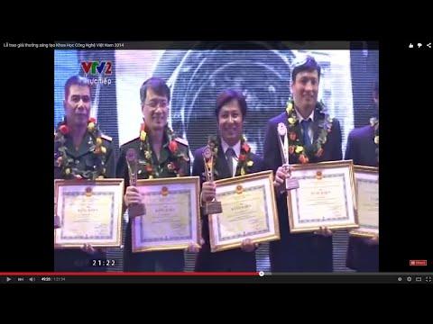 Lễ trao giải thưởng sáng tạo Khoa Học Công Nghệ Việt Nam 2014