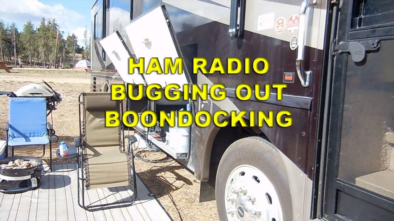 Ham Radio Rv Motorhome Bug Out Boondock Youtube