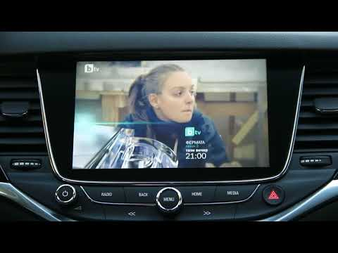 Opel Astra K with Intellilink 900 - 360 bird eye camera system,  digital TV, mirrorlink