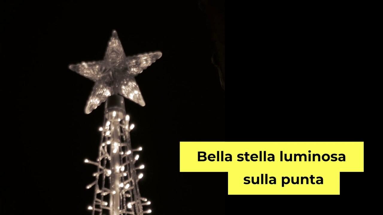 Stella Luminosa Di Natale.Albero Di Natale 778 Led