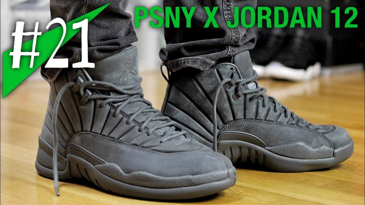#21 - PSNY x Nike Air Jordan 12 - on feet - sneakerkult (Public School)