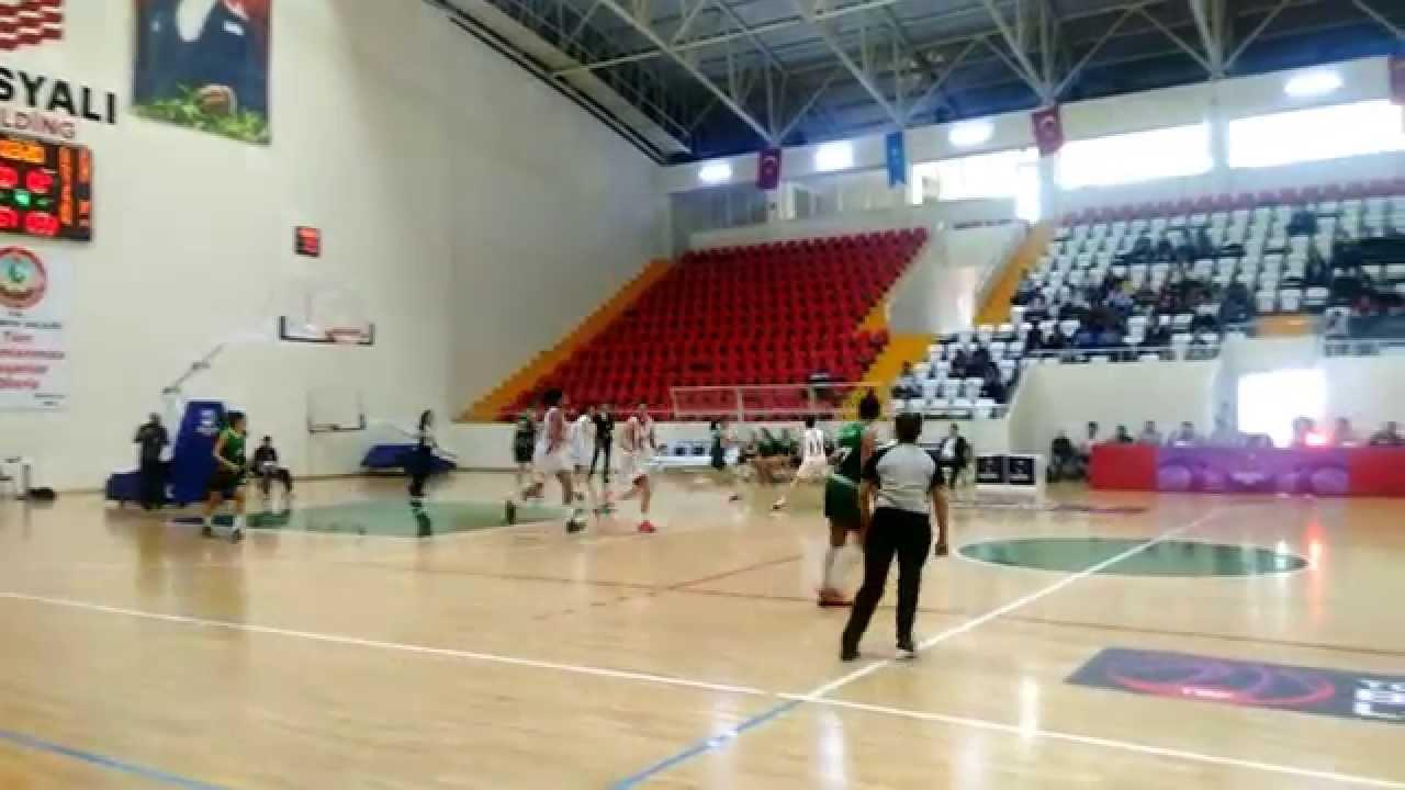 Osmaniye Gençlik SK, Urla Belediyesini 72-42 Yendi