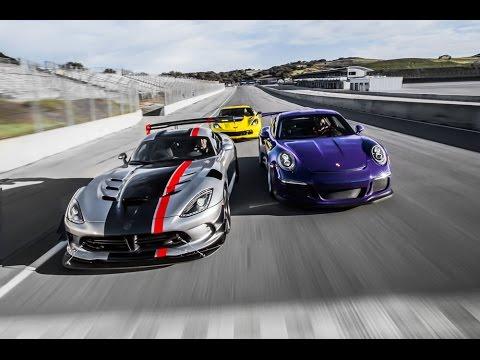 chevrolet corvette z06 vs dodge viper acr vs porsche 911 gt3 rs youtube. Black Bedroom Furniture Sets. Home Design Ideas
