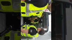 Police at toryglen asda