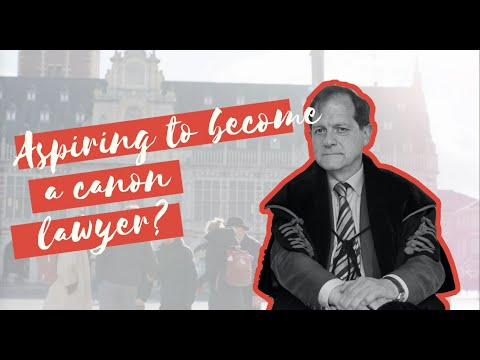 Study at Faculty of Canon Law Leuven