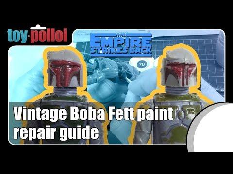 Vintage Star Wars Boba Fett paint repair guide - Toy Polloi
