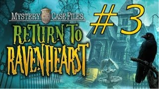 Mystery Case Files: Return to Ravenhearst Walkthrough part 3