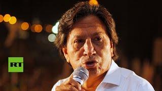 Ordenan prisión preventiva contra el expresidente peruano Alejandro Toledo y su esposa