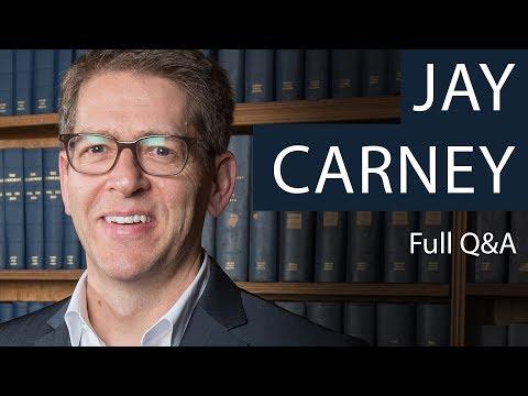 Jay Carney | Full Q&A | Oxford Union