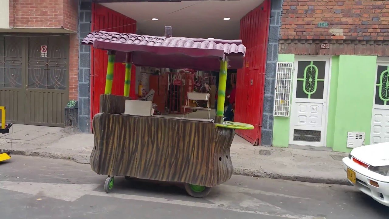 Carros para comidas rapidas en fibra de vidrio bogota for Mesas para negocio comidas rapidas