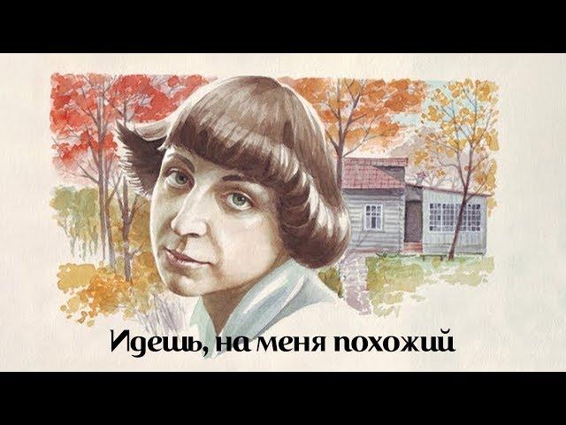 Изображение предпросмотра прочтения – АнастасияШилкина читает произведение «Идёшь на меня похожий» М.И.Цветаевой