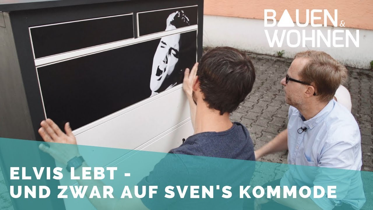Diy Neuer Folien Look Fur Ikea Kommode How To Youtube
