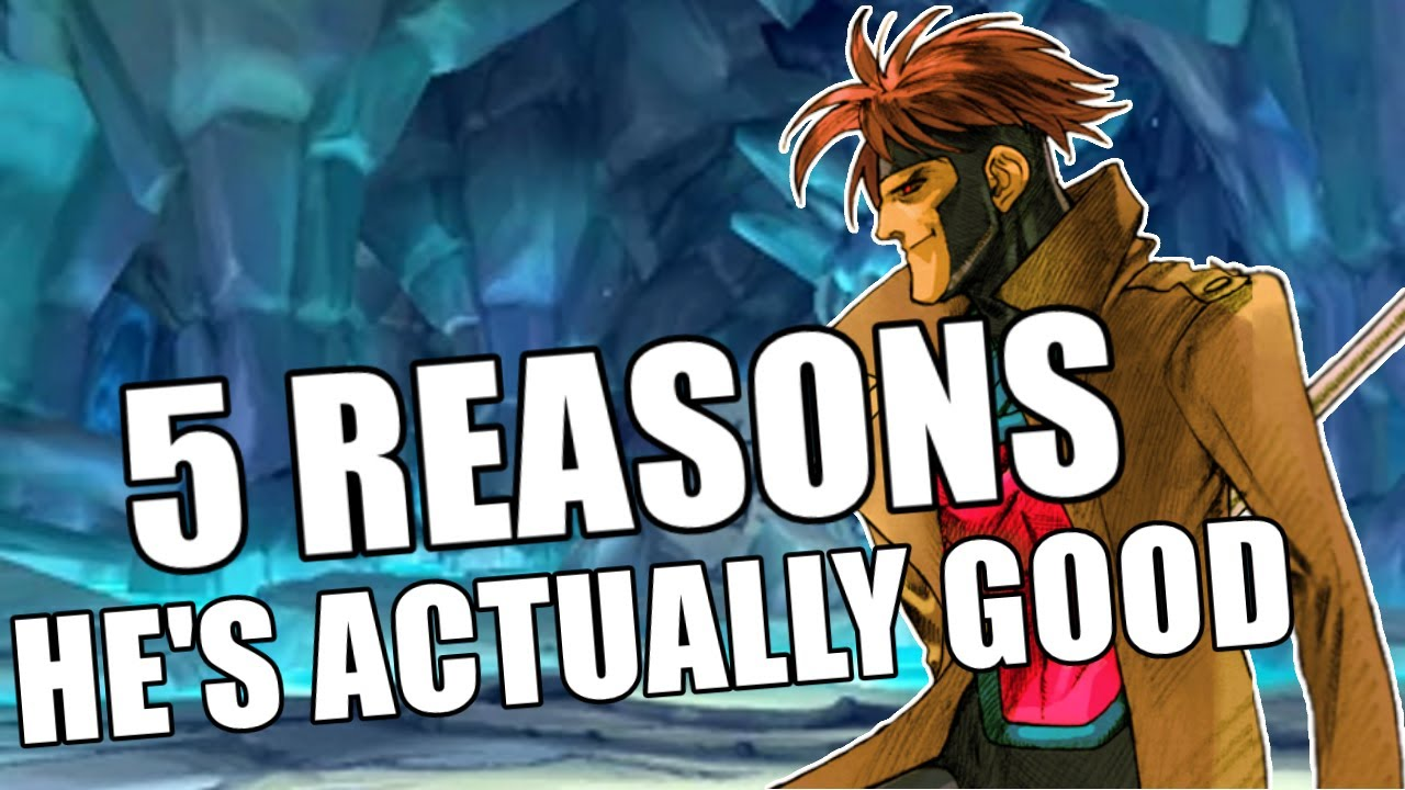 Download Why Gambit is stronger than you think in Marvel vs Capcom 2.
