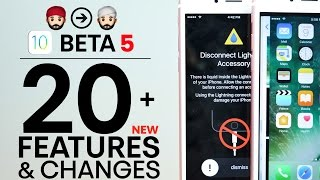 iOS 10 Beta 5! 20+ New Features & Changes Review