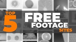 Top 5 FREE STOCK FOOTAGE SITES