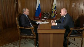 Президенту доложили о ходе масштабных строек в Крыму.