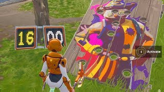 Fortnite Get a score of 10 or more on a Carnival Clown Board