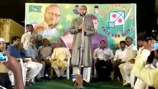 Live Video Coverage 13th Apr 2014   Asaduddin Owaisi Public Meetings