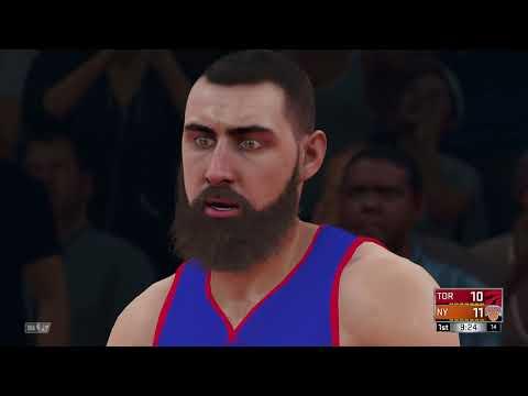 NBA 2K18 Toronto Raptors vs New York Knicks