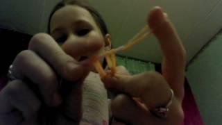 Плетение из резинок урок #2 (фигурка груша)