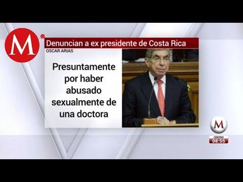 Denuncian por violación a Nobel de la Paz, Óscar Arias Mp3