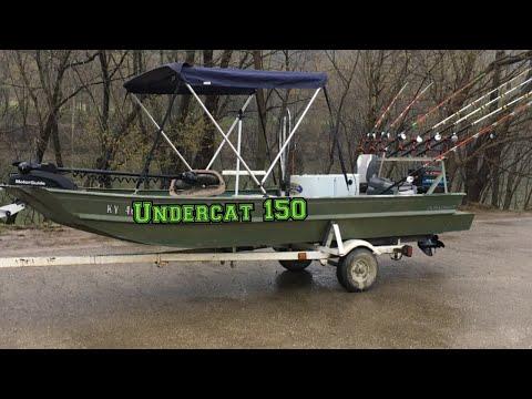 CATFISH Boat Setup. A Tiny Boat Rigged For Trophy Catfish..