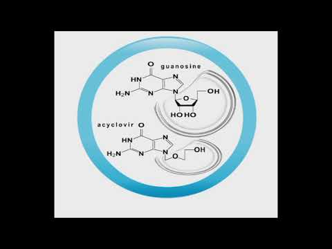 Antiviral animation: Acyclovir