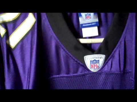 My Baltimore Ravens Jersey Collection