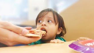 Su Primera Vez Comiendo Pizza!! (+PatPat Haul)
