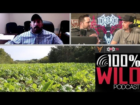 Food Plots and Land Management with Dan Perez - 100% Wild Podcast 29