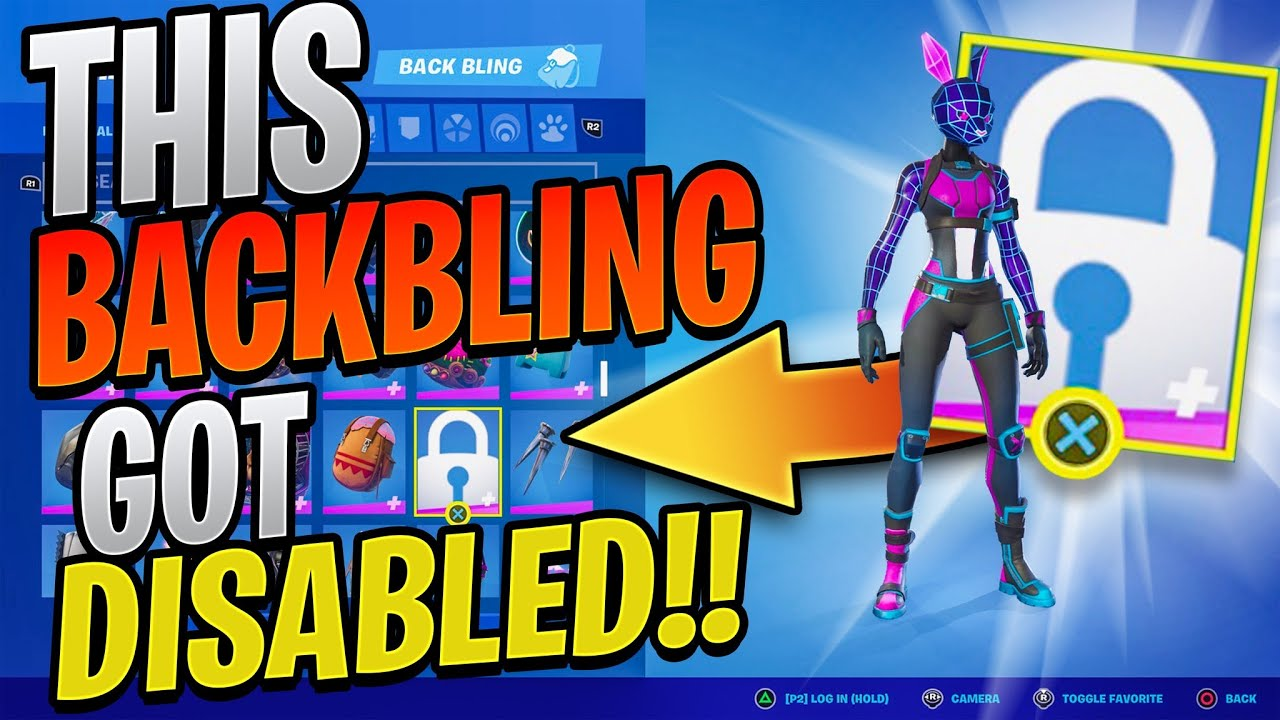 This Backbling Got DISABLED... But Why? (I Got A Victory Royale With The WORST Glitch In Season 7)