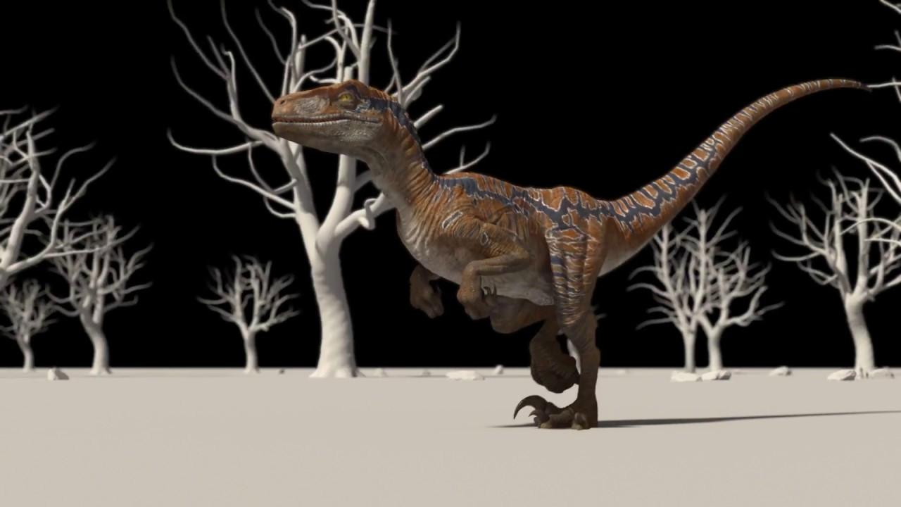 Raptor Dinosaur Maya Rig | FlippedNormals