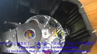Presentation video of X8 gobo projector   Ledy
