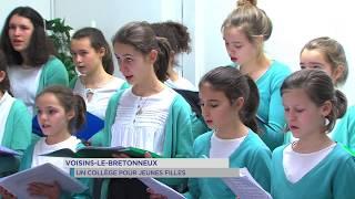 Voisins-le-Bretonneux : un collège pour jeunes filles