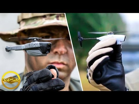 10 เทคโนโลยีทางทหารอัจฉริยะที่คุณไม่เคยเห็นมาก่อน (เฟี้ยวมาก)