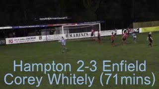 Hampton and Richmond 2 vs 3 Enfield Town