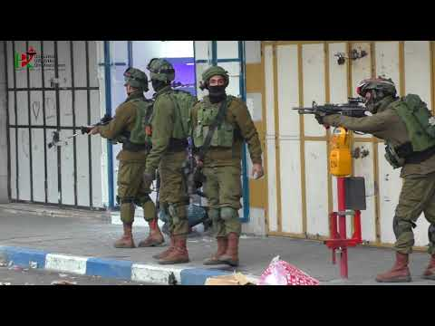 Israeli army shoots fire in Hebron, and life continues nonetheless