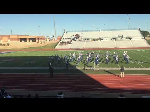 Olton High School band 2019-2020