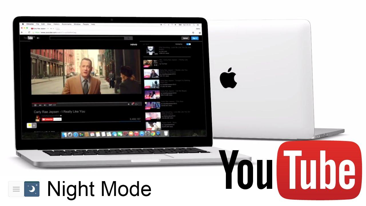 youtube night mode