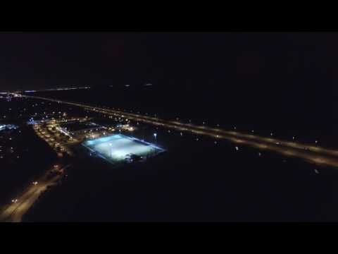 Phantom 3 Flying over Coral Springs at Night