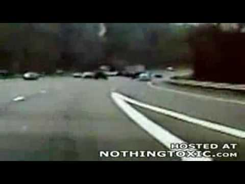 Wild Police Chase 2 NY Limo 150mph and reverse driving!!!
