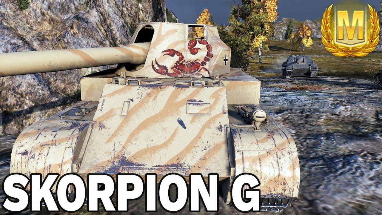 LIPNA MASTERKA – SKORPION G – World of Tanks